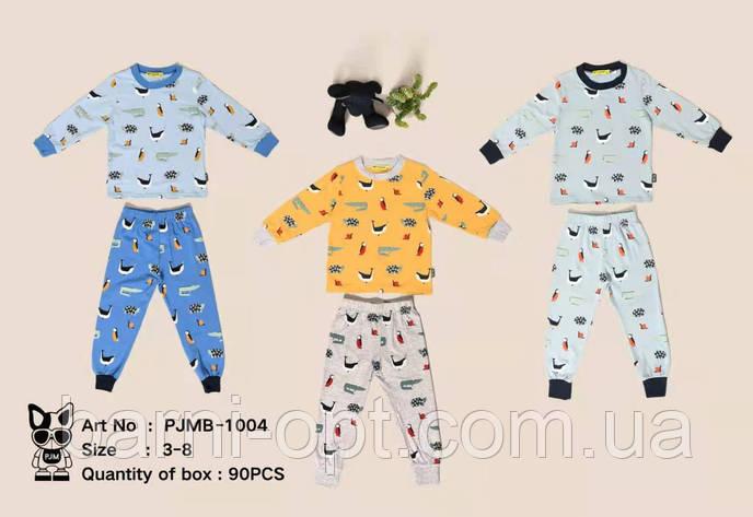 Детские пижамы оптом, Setty Koop , 3-8 рр, фото 2