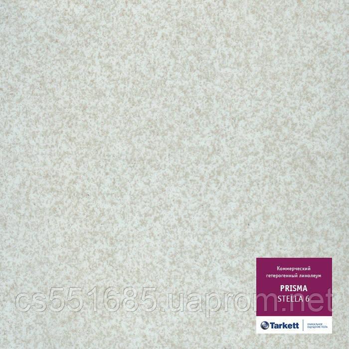 Stella 6 - линолеум коммерческий гетерогенный 34 класс, коллекция Prisma  (Призма) Tarkett (Таркетт)