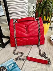 Клатч Virgie на ланцюжку червоний ВИР2, фото 3