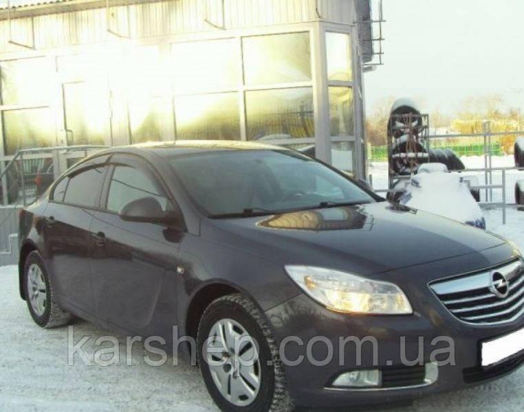 Ветровики на Opel Insignia Sd 2008