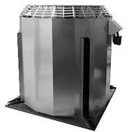 Крышный вытяжной вентилятор КРОВ с выбросом потока в верх