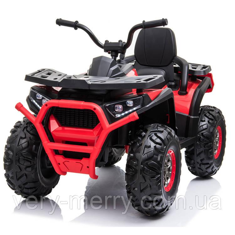 Детский электромобиль-квадроцикл Kodiak (красный цвет) + усиленная амортизация