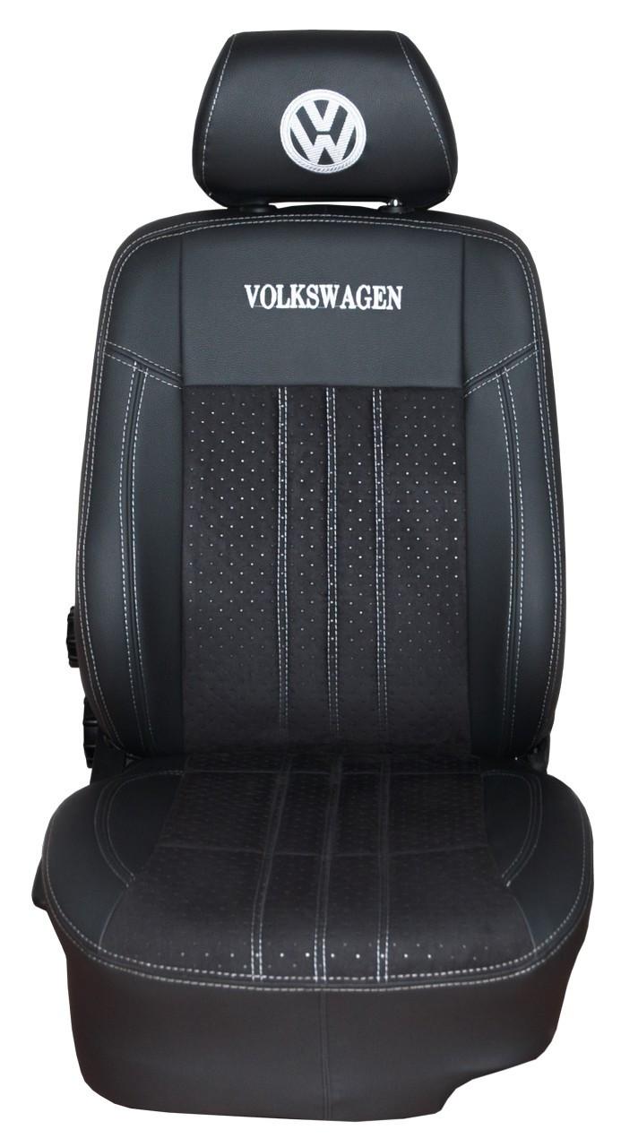 """Модельные чехлы Volkswagen Passat B5 / Фольксваген Пассат 1997-2005 """"Нубук"""", фото 1"""