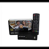 Цифровой эфирный тюнер UKC DVB-T2 0967 с поддержкой wi-fi c экраном