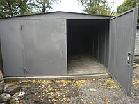Металлические ворота на гараж