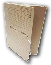 Папка-короб для нотариусов архивная, 40 мм, А4, на завязках