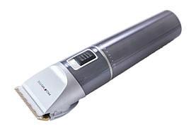 Акумуляторна машинка для стрижки волосся Promotec PM-362 с 4 насадками / Бездротовий тример, фото 2