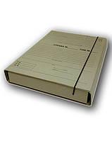 Папка коробка архивная для нотариуса 40мм на резинке