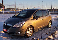 Ветровики на Opel Meriva B 2011 (полная)