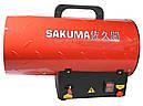 Газовая тепловая пушка на 15 кВт Sakuma SGA 1401-15, фото 2