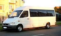 Заказ и аренда микроавтобуса с водителем в Харькове