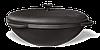 Казан чугунный 12л с крышкой, фото 4