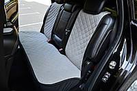 Накидки на сиденья автомобиля (задние, AVторитет, серый), фото 1