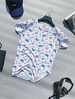 Мужская футболка летняя стильная с рисунком | Чоловіча літня футболка з малюнком