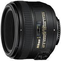 Об'єктив Nikkor AF-S 50mm f/1.4 G Nikon (JAA014DA)