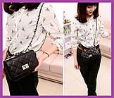 Жіноча міні сумочка клатч MINI, Жіночі міні сумки, Міні-чорна сумочка на плече, Маленькі жіночі сумки