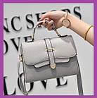 Женская мини сумочка клатч MINI, Женские мини сумки, Мини-сумочка серая на плечо, Женские сумочки и клатчи