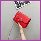 Женская мини сумочка клатч MINI, Женские мини сумки, Мини-сумочка красная на плечо, Женские сумочки и клатчи