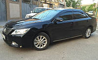 Дефлекторы окон (ветровики) Тойота Camry VII Sd 2011