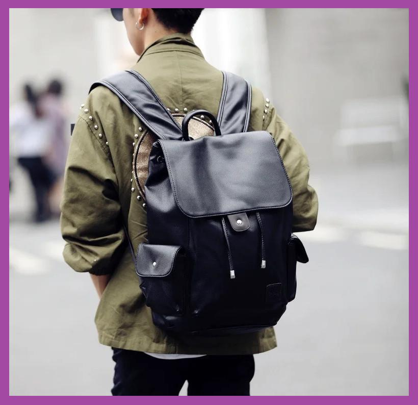 Модний чоловічий рюкзак + ПОДАРУНОК