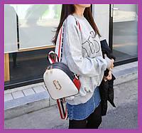 Стильний жіночий міні рюкзак, фото 1
