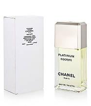 Тестер туалетная вода мужская Chanel Egoiste Platinum (Шанель Платинум Эгоист) 100 мл
