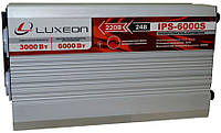 Luxeon IPS-6000S 3000W синус от 24В инвертор, преобразователь напряжения