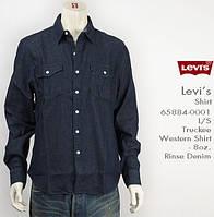 Джинсовая рубашка Levis Truckee Western - Rinse (L)