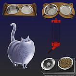 Миски, кормушки и поилки для кошек