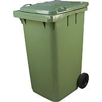 Бак для мусора на колесах 360 литров iPlast