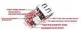 Понижающий стабилизатор напряжения  5V 3A USB mini, фото 6
