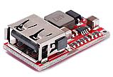 Понижающий стабилизатор напряжения  5V 3A USB mini, фото 2
