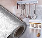 Кухонні маслостійке водонепроникна наклейка для плити з алюмінієвої фольги, фото 3