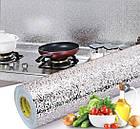 Кухонні маслостійке водонепроникна наклейка для плити з алюмінієвої фольги, фото 4