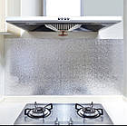 Кухонная маслостойкая водонепроницаемая наклейка для плиты из алюминиевой фольги, фото 5