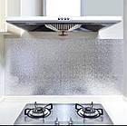 Кухонні маслостійке водонепроникна наклейка для плити з алюмінієвої фольги, фото 5