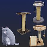 Когтеточки и аксессуары для кошек