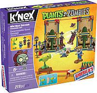 Игра Растения против Зомби K'nex Plants vs. Zombies Wild West