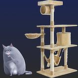 Игровые городки большие > 1,25 м для котов и кошек