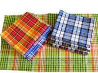 Вафельные полотенца цветные х/б