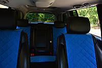 Накидки на сиденья автомобиля (полный комплект, AVторитет, синий), фото 1