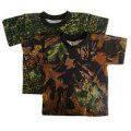 Военные камуфлированные футболки, трикотаж.