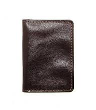 Обложка для документов DNK Leather ID паспорт Коричневый DNK mini doc R col.F, КОД: 1470275