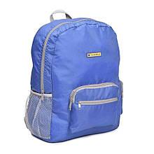 Складной рюкзак для путешествий Travel Blue Folding Backpack 20 л Синий 065B, КОД: 1624635