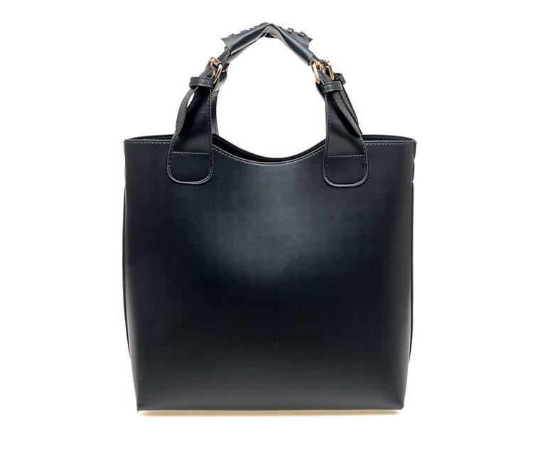 Сумка-шоппер classic k147 | черная