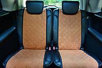 Накидки на сиденья автомобиля (полный комплект, AVторитет, бежевый), фото 1