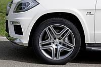 Литые диски AMG на Mercedes GL-Сlass W166, фото 1