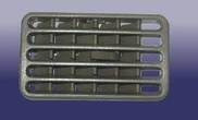 Решетка обдува центральной консоли Чери Амулет А15 / Chery Amulet A15  A15-5305230BH