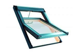 Вікно мансардне Roto QT-4_H3P AL 114/140 P5F