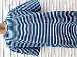 Мужская футболка большого размера 58 размер Бежево-белые полоски, фото 8